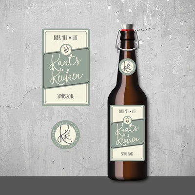 bierlabel Kaats Kitchen