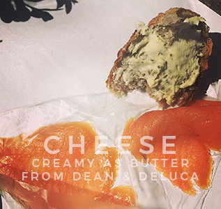 lox and cheese