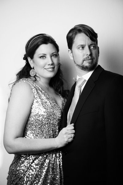 Hubs and I modeling for Justin and Mary at the  European Wedding congress