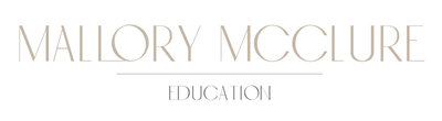 Mallory McClure Education Logo