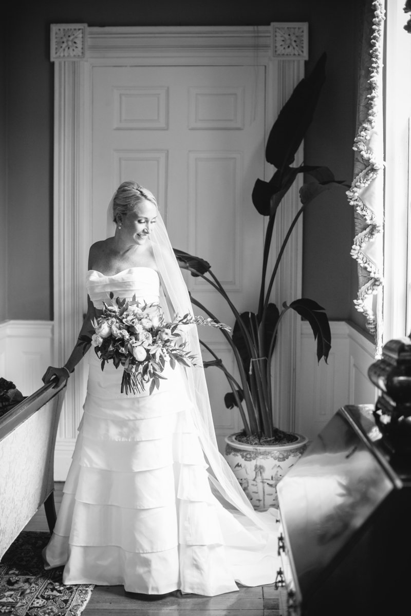 Thomas Bennett House Bridal Portraits