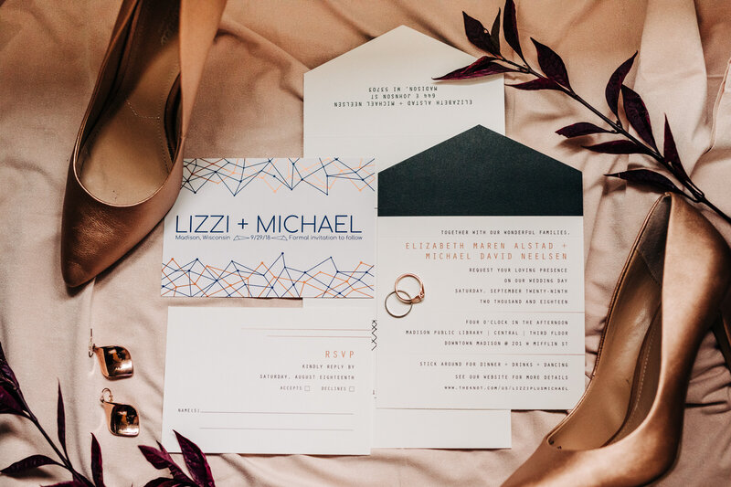 Invitation suite photos
