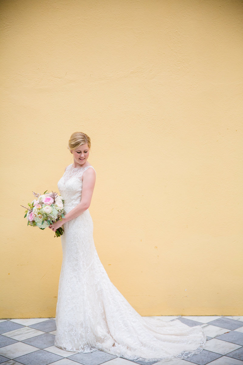Classic Charleston Bridal Portrait