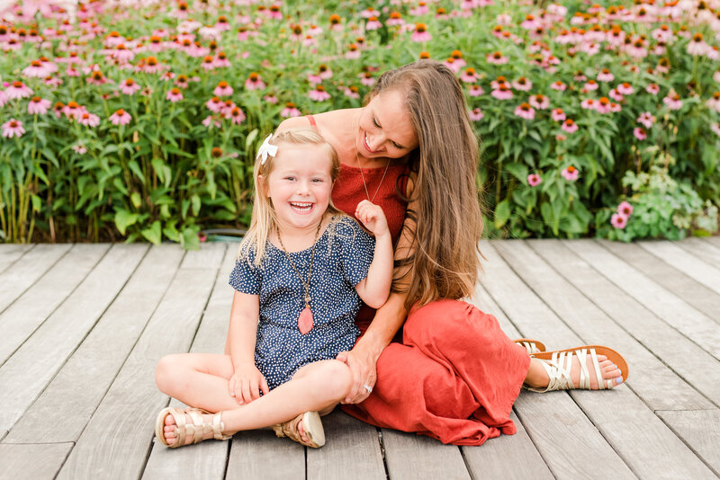 Richmond Summer flower garden family photography-10
