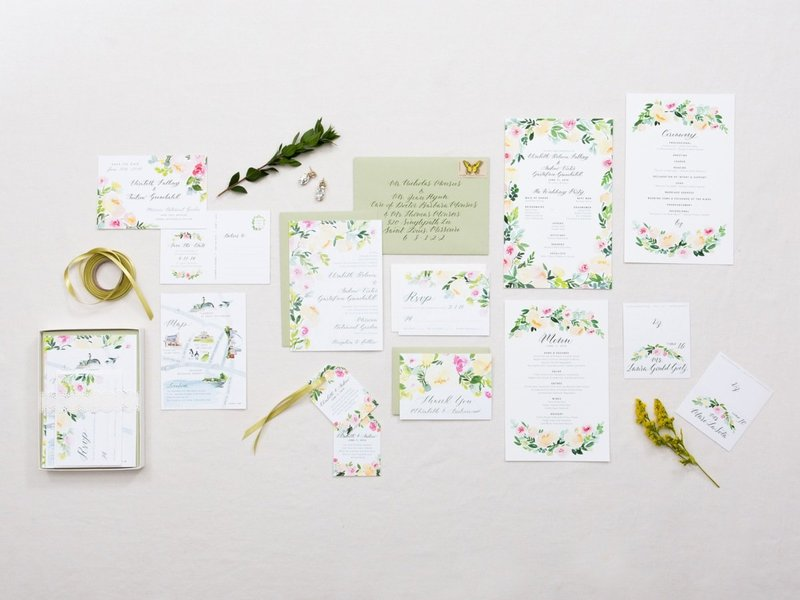 Yao Cheng Wedding Invitations