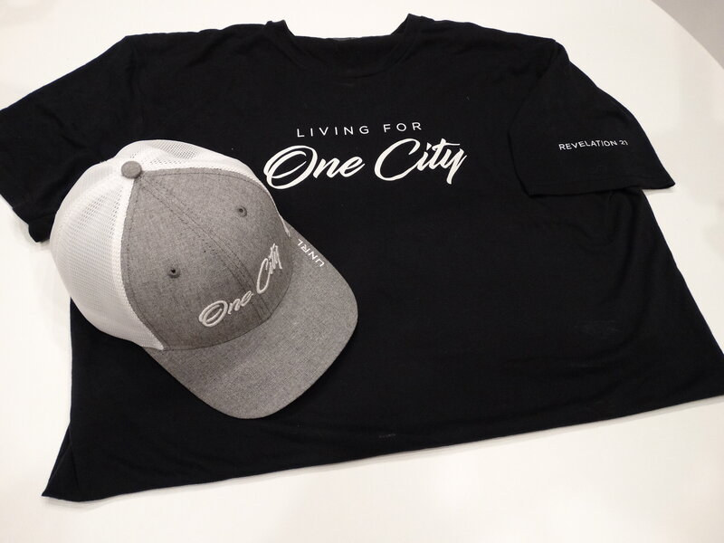 Living for One City Shirt & Hat - Image #1