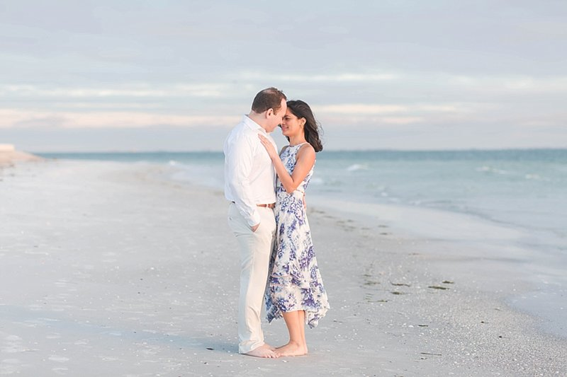 St Pete Beach Engagement photography