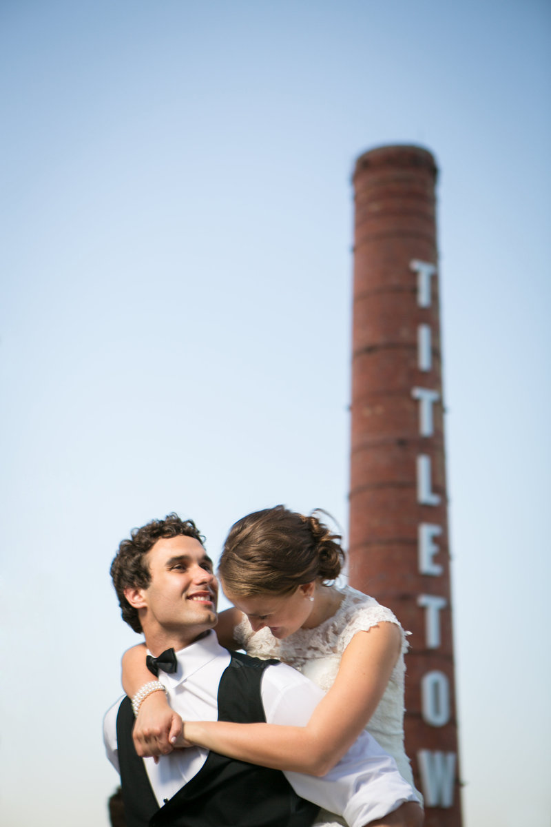 Green Bay Adventure Wedding at Title Town Tap Room by Amenson Studio110