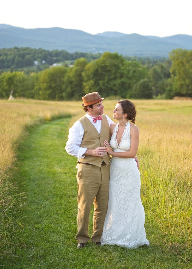 Vermont natural light wedding photographer