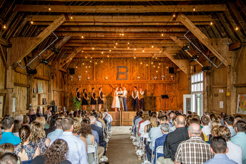 6 wedding photography barn ceremony
