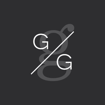 GG Icon on Black