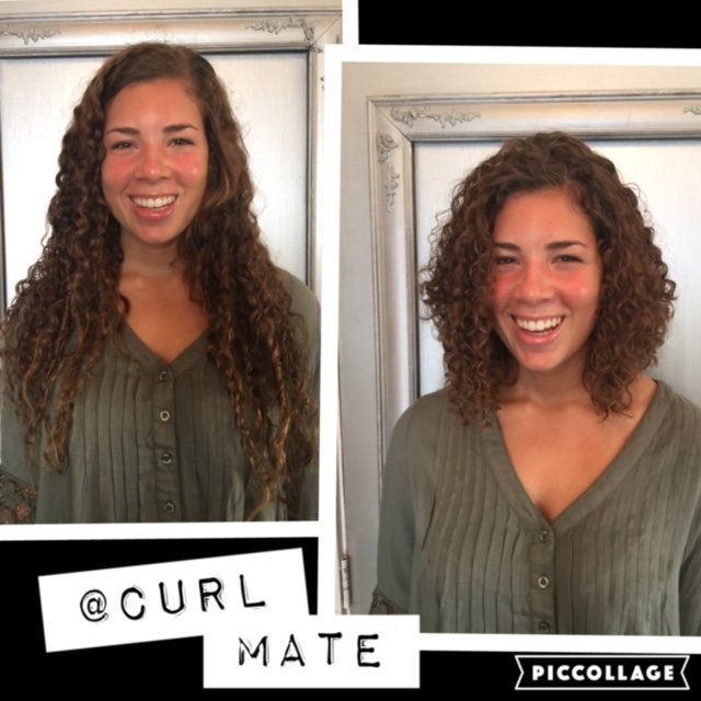 Deva cut and Pintura at LunaBella Salon in Santa Barbara