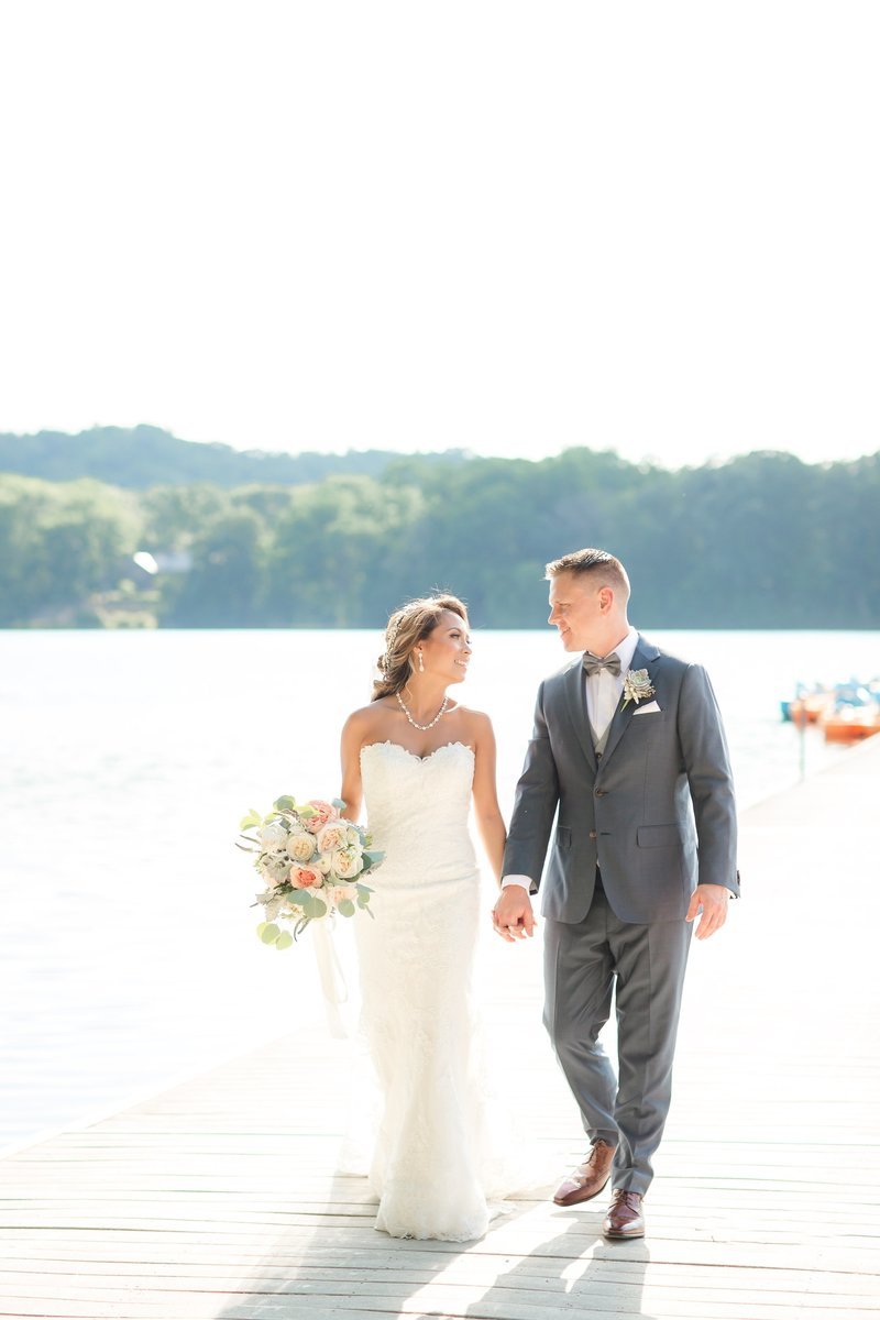 Indian Trail Club wedding photo