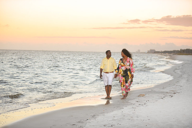 Biloxi Beach engagement session-29