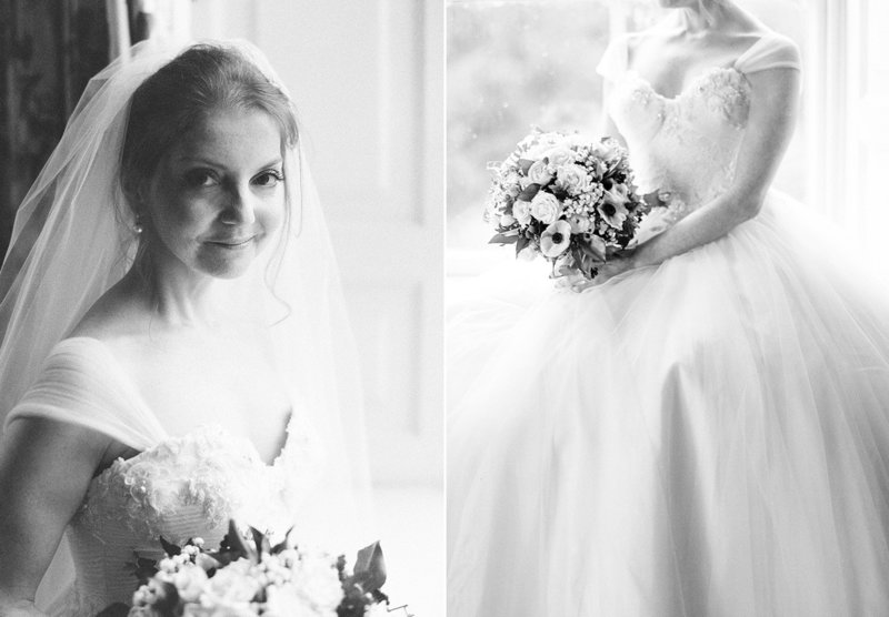 sarah hannam bradley house wiltshire wedding film photographer sassi holford tulle dress
