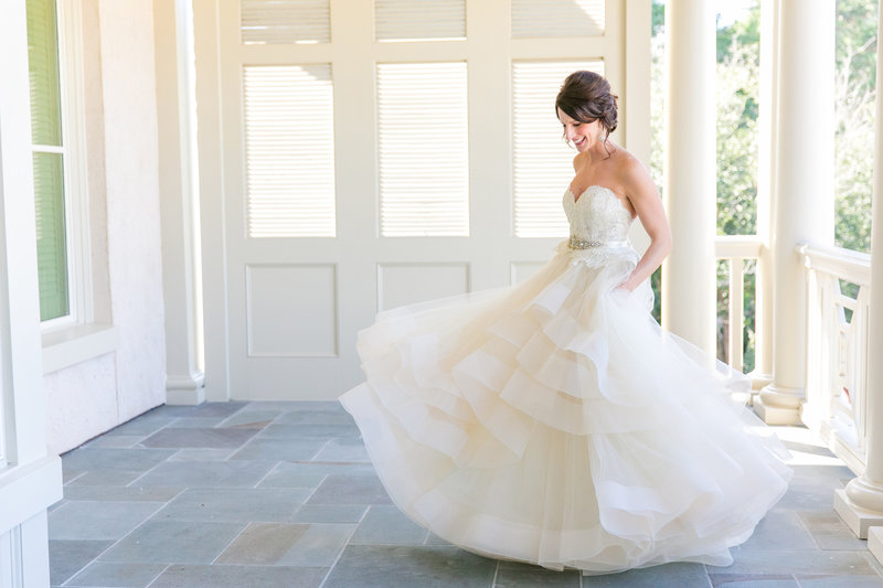 Hilton Head SC Bridal Portraits