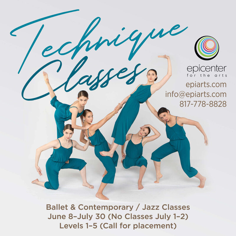 Technique Classes 2020 graphic