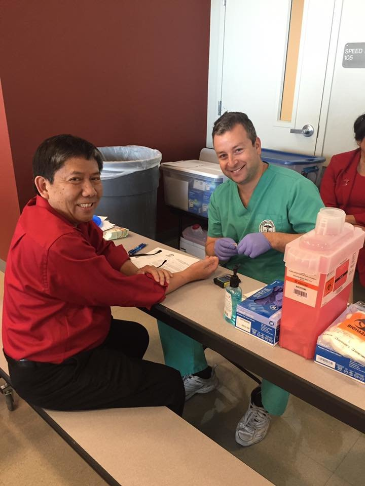 Community 3 - Health Screening with American Heart Association and Dignity Health and Delano Regional Medical Center
