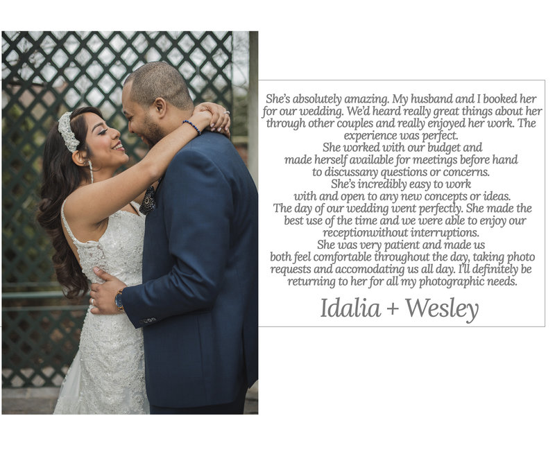 Idalia and wesley review