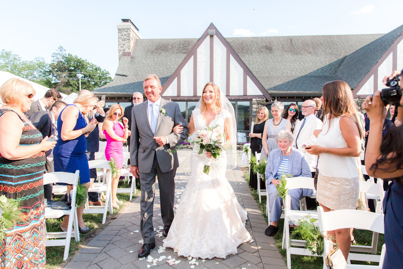 NJ Summer Wedding at Lake Valhalla Club