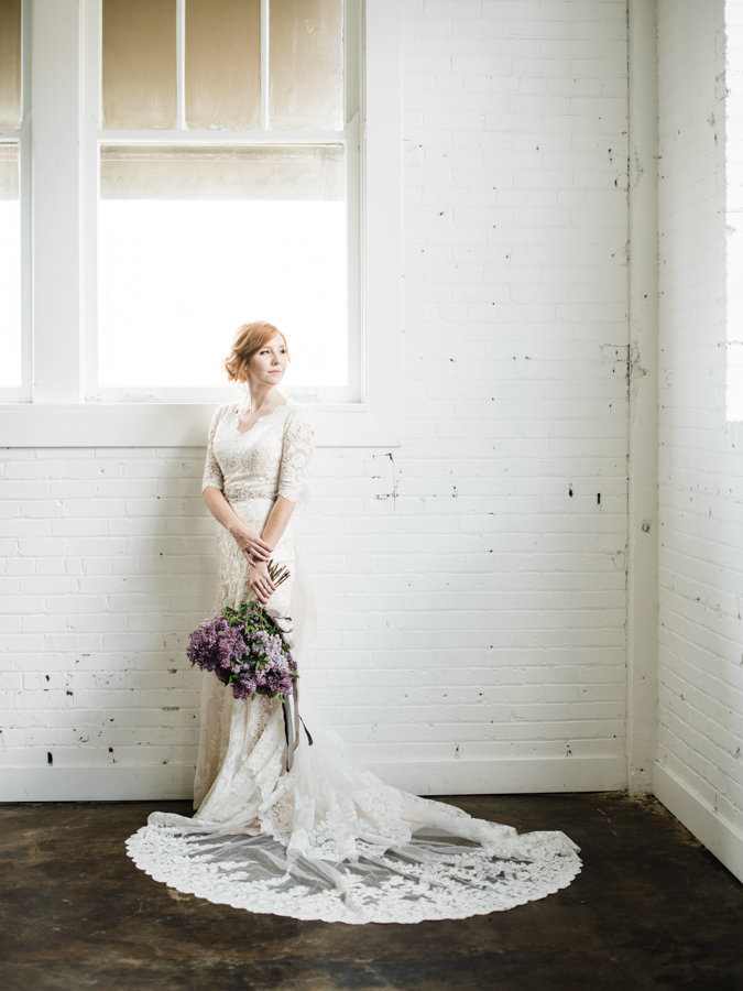 Editorial Bridal Portraits Salt Lake City