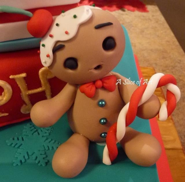 gingy  fondant figure