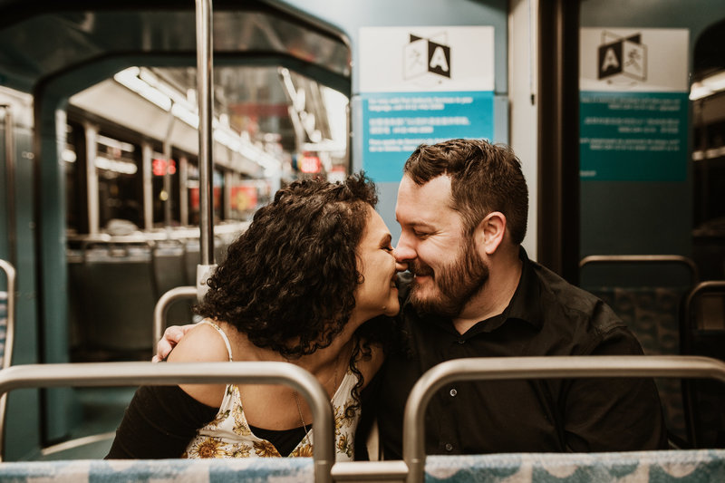 Downtown Pgh Engagement Photographer-6