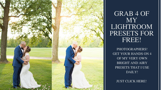 Grab 4 of my lightroom Presets for free!