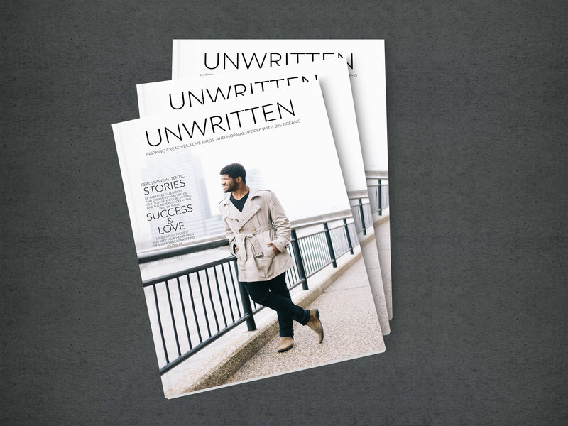 Unwritten Magazine by Sidney Baker-Green