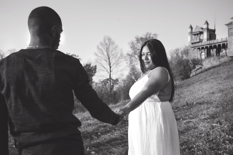 Oalan State Historic Site Hudson, NY Engagement Session