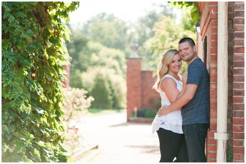 Mansfield Ohio Engagement Session Kingwood Garden Center_0017