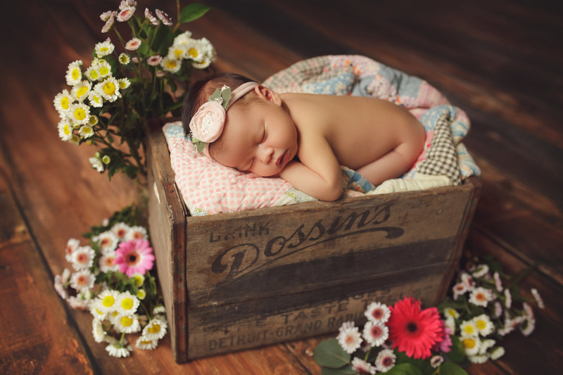 thousand oaks newborn portrait studio