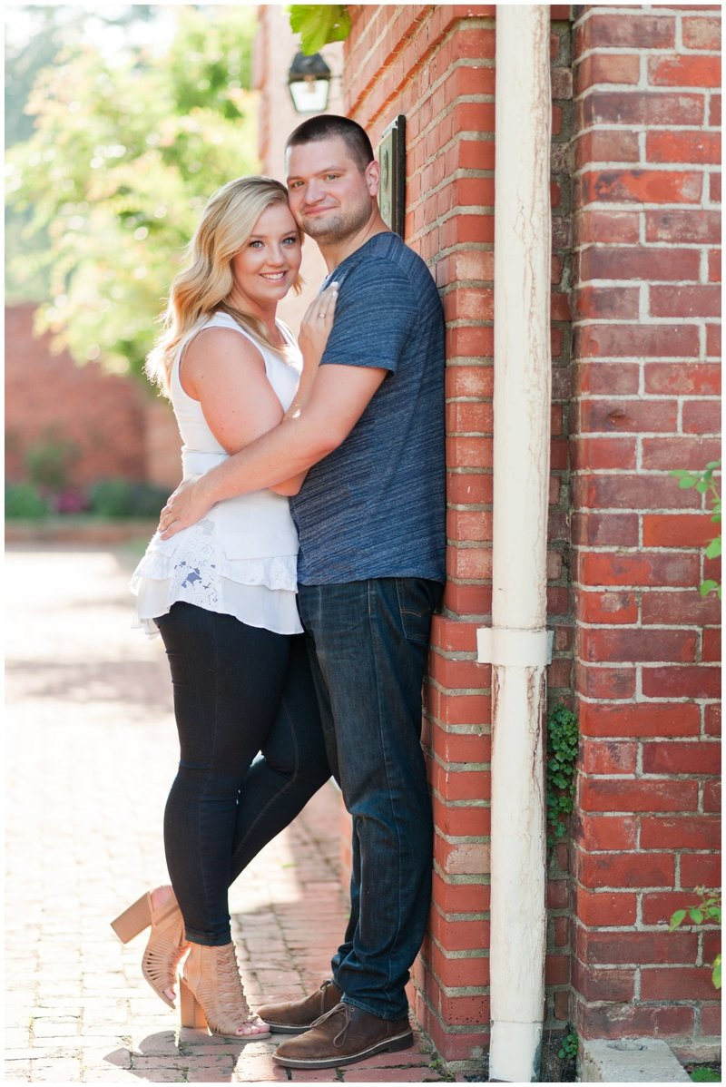 Mansfield Ohio Engagement Session Kingwood Garden Center_0009