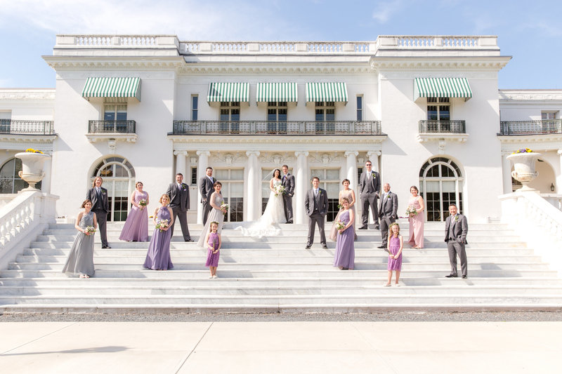 Bridal Party at Monmouth University