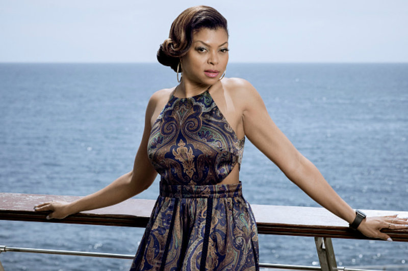 Taraji P Henson  Paris Hair Stylist Artist Celebrity