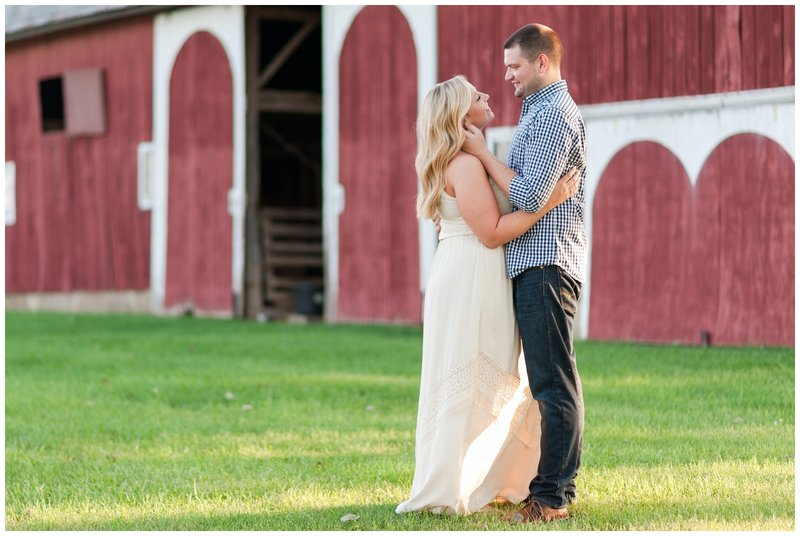 Mansfield Ohio Engagement Session Kingwood Garden Center_0018