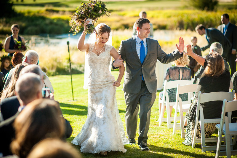Sunriver Resort wedding photography by Pete Erickson.
