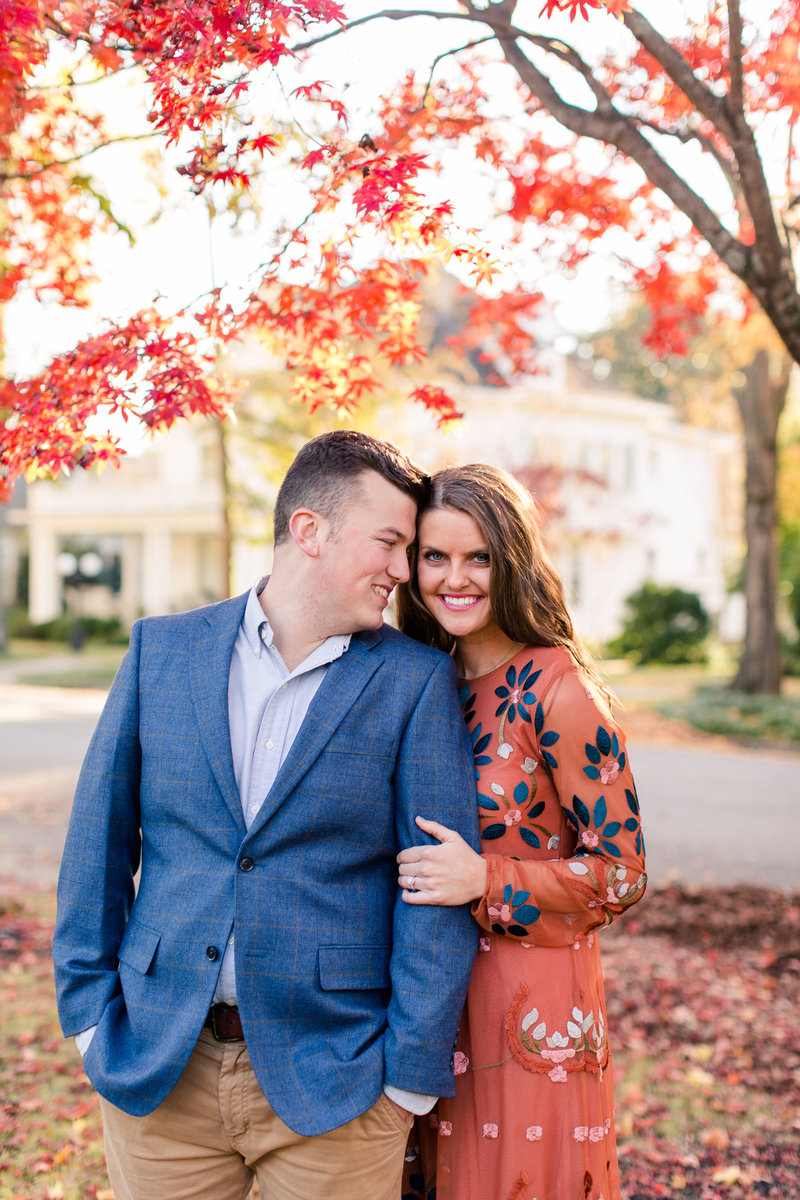 florence-alabama-wedding-engagement-downtown-fall colors-empress-stationery-auburn-wedding