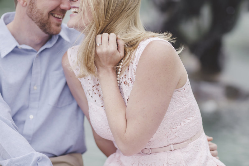 Love Tree Studios engagement session jefferson city capitol