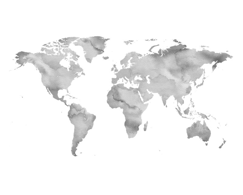 graywatercolorworldmap