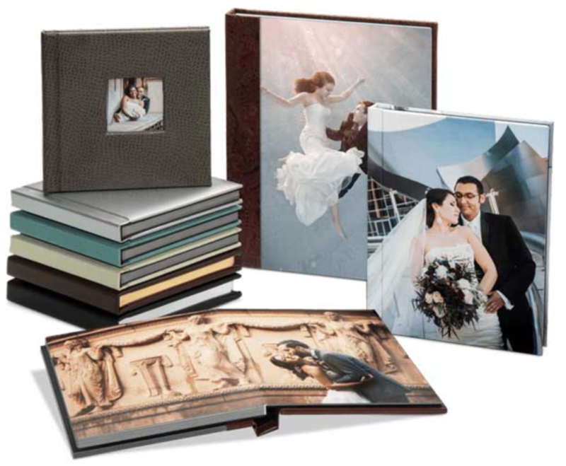 Photo of sample albums