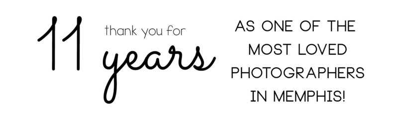 11 years banner-jen howell photography