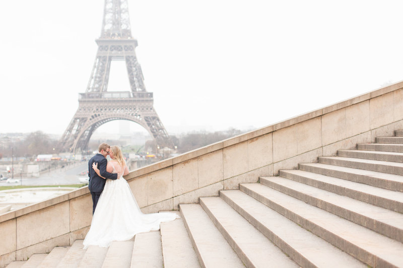 Paris Wedding Eiffel Tower Photographer