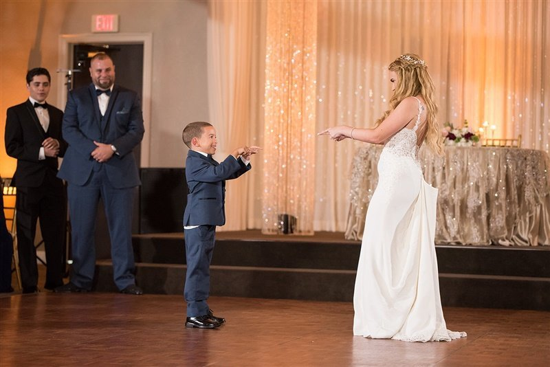 First dance with son Miami Wedding