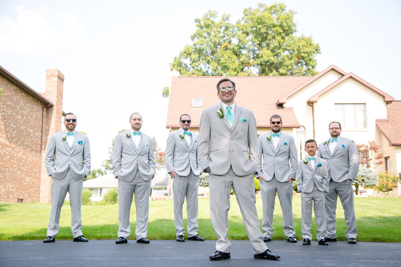 68 wedding photography Groomsmen Formal Portrait