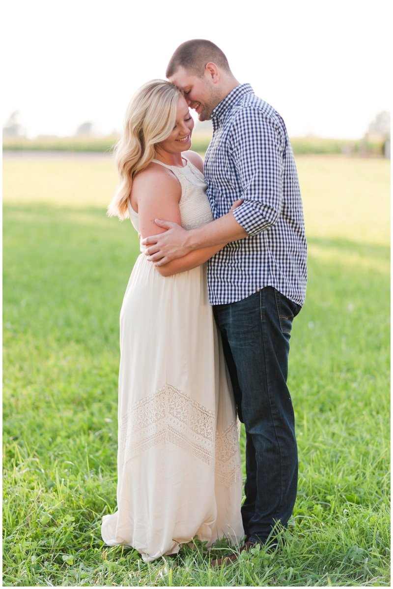 Mansfield Ohio Engagement Session Kingwood Garden Center_0029