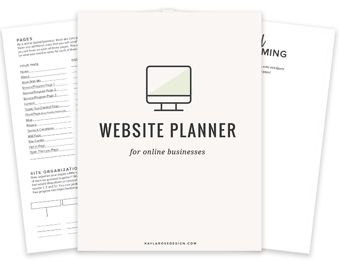 marvelous website planner #2: Need a new website but not sure where to start?