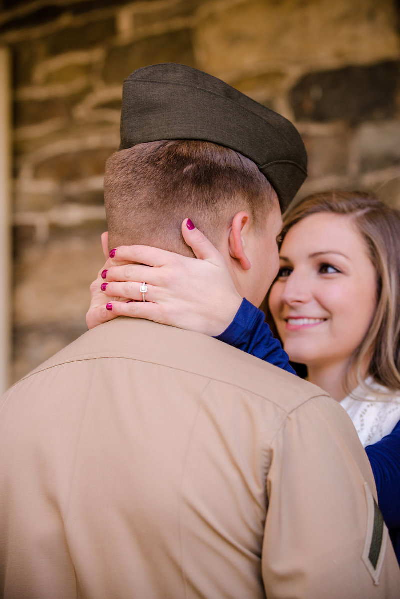 JandDstudio-engagement-rustic-vintage-military-fall-ring