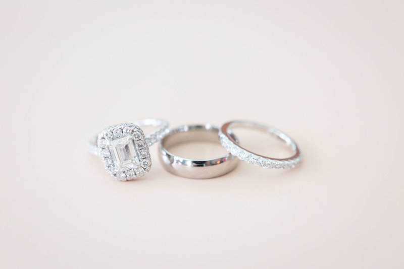 Bride and Groom's Wedding Ring Photo