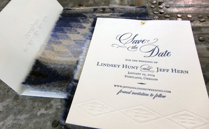 Lindsey Hunt Save the Date